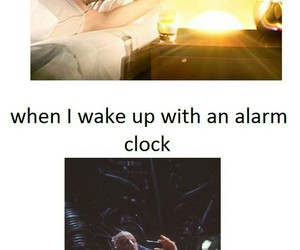 funny, alarm, and lol image
