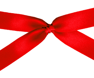 red, ribbon, and stamp image