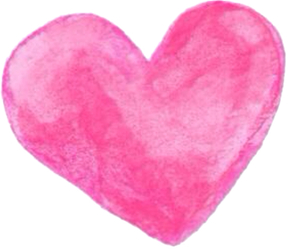 heart, pink, and stamp image