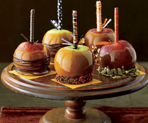 apples and chocolate image
