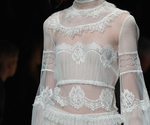 Couture, fashion, and lace image