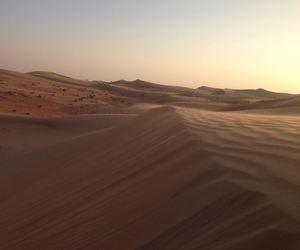 abu dhabi, desert, and landscape image