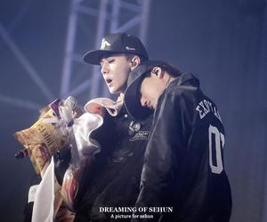 sehun, kim jongin, and kai image