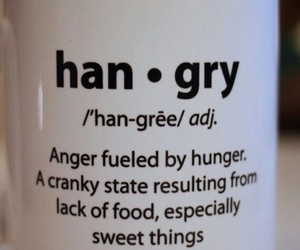 hungry, angry, and quotes image
