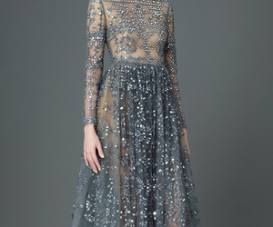 dress, Couture, and Valentino image