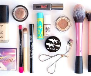 makeup, nars, and Brushes image