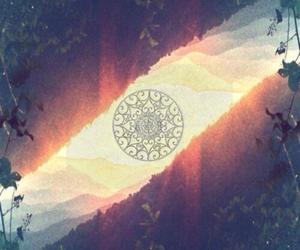 mandala, art, and hipster image
