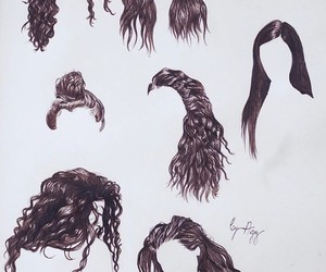 hair, lord, and art image