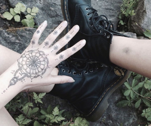 grunge, tattoo, and black image