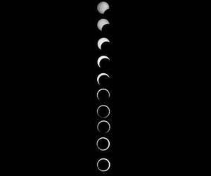 eclipse and dark moons night grunge image