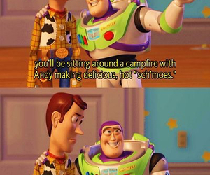andy, buzz, and cartoon image