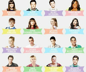 glee club, new directions, and glee image