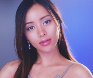 michelle phan, purple, and youtuber image