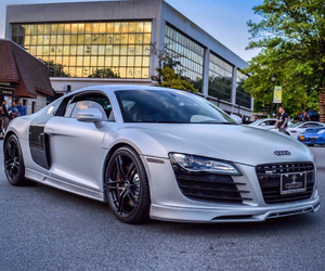 audi r8, car, and luxury image