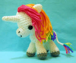 unicorn, cute, and rainbow image