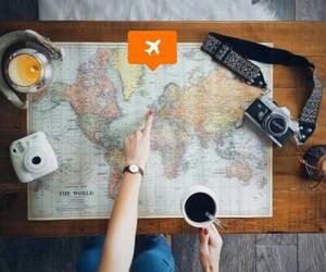 camera, wanderlust, and coffee image