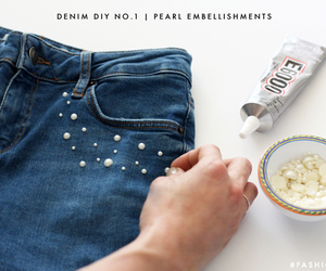 denim, diy, and do it yourself image
