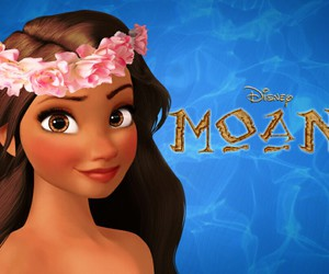 moana, disney, and princess image