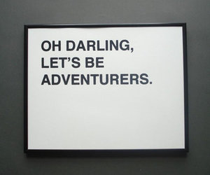 darling, text, and quote image