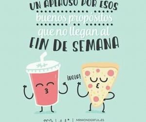 pizza, weekend, and mr wonderful image