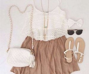 dress, outfits, and summer image