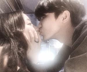 kiss, korea, and korean image