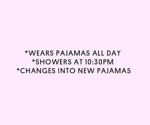 happiness, pijama, and sleep image
