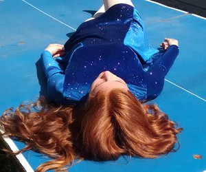 photography, blue, and ginger image