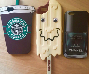 starbucks, chanel, and case image