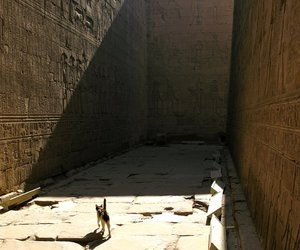 egypt, temple of horus, and girdle wall image