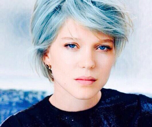 blue, Lea Seydoux, and blue is the warmest color image