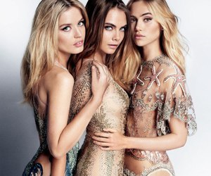 model, cara delevingne, and georgia may jagger image