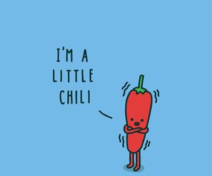 chili, cute, and funny image