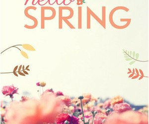 flowers, good time, and hello spring image