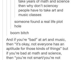 true, tumblr, and school image