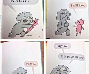 book, funny, and end image