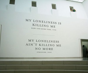 britney spears, quotes, and loneliness image