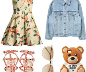 girl, outfit, and love image