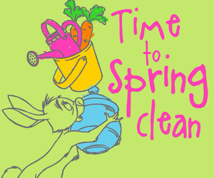 rabbit, spring, and winnie the pooh image