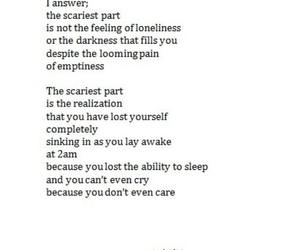 quotes, sad, and scary image
