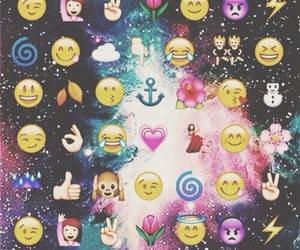 wallpaper, emoji, and emojis image