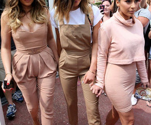 kylie jenner, kim kardashian, and pink image