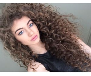 hair, dytto, and curly image