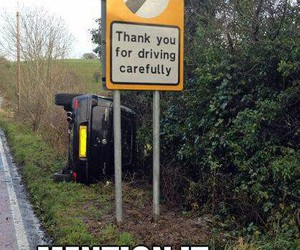 driving, funny, and image image
