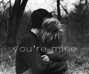 beautiful, couple, and you are mine image