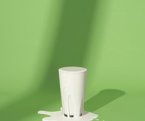 green, milk, and white image