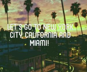 california, Miami, and travel image