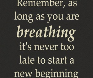 breathing, life, and life lessons image