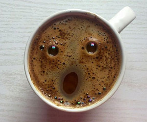 coffee, face, and funny image