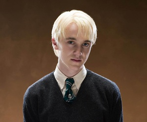 malfoy, draco, and harry potter image